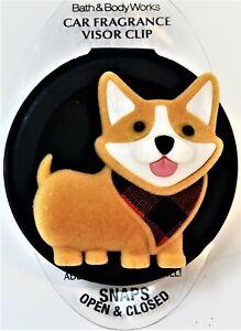 Bath & Body Works Scentportable Holder Car Scent CORGI Dog Puppy Animal New