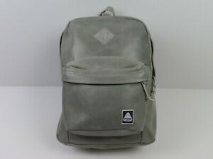 JanSport Backpack Grey Leather Sample Superbreak Yeezy HUF Skate Bag Right Pack