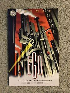 Batman:EGO Rare 1st Print Prestige Format-Graphic Novel-tpb Darwyn Cooke NM