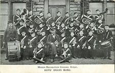 Boys Brass Band, Maden Recreation Ground, Bacup UK