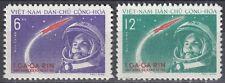 Vietnam / Việt Nam Nr. 166-167** Jurij Gagarin / Kosmonaut