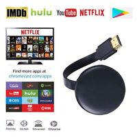 Chromecast 4th Generation Mirascreen 1080P HDMI Media Video Streamer Player NEW