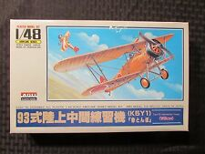ARII Type 93 WILLOW Japan 1/48 Scale Wingspan Airplane Aircraft Model Kit