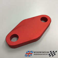 Ford Pinto Fuel Pump Blanking Plate. OHC, Red OE903