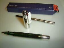 PELIKAN r425 Rollerball, Verde Scuro Trasparente/Argento Sterling