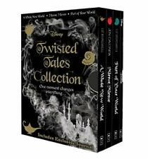 NEW Disney Twisted Tales Collection 3 Books Collection Journal Library Gift Set!
