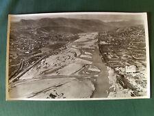LE VAR à ST LAURENT DU VAR (04) - PHOTO AERIENNE 27 cm x 45 cm LAPIE 1958