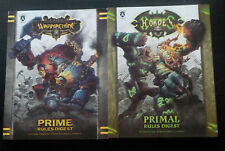 Hordes Primal & Warmachine Prime Mini Rule books Rules Digest 2016 MK3