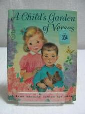 Vintage Rand McNally Children's Books A Child's Garden of Verses c1962