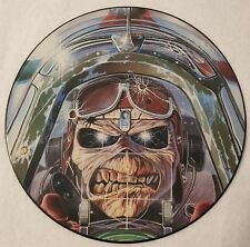 """IRON MAIDEN I Shot The Focke 12"""" EP Picture Disc 1984 First Release"""