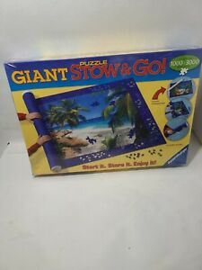 Ravensburger jigsaw Puzzle Giant Stow & Go travel mat roll SEALED