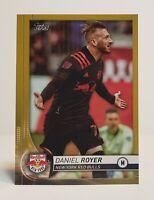 2020 Topps MLS Soccer DANIEL ROYER #26 GOLD Parallel #33/50 New York Red Bulls