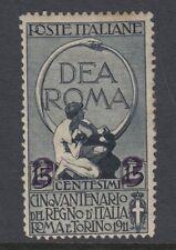 ITALIA:1913 2c su 15 quater maggiorazione Wide (15 1/2 mm) Impostazione SG 95A MINT