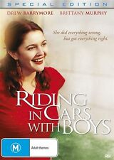 Riding In Cars With Boys (DVD, 2017) (Region 4) Aussie Release