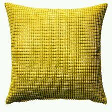 2 × Ikea gullklocka Cubierta para Cojín Cubre Felpilla Amarillo * promocional pr