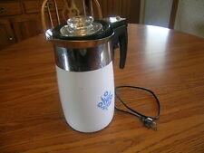 Vintage 70s 10 Cup Automatic Electric Coffee Pot Percolator EC