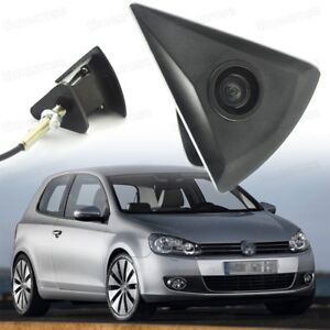 170° HD CCD Front View Camera Car Logo Embedded New for VW Golf MK6 2009-2012