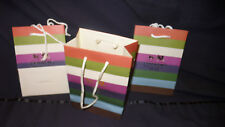 10 Coach Petit Shoppers 7x5x3 inch Paper Shopping bags With Rope Handle
