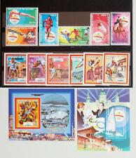 GUINEA 1987-89 OLYMPICS, XF Cpl. MNH** Sheets + Sets Collection, Sport Stamp