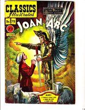 Classics Illustrated 78: Joan of Arc (1950): Original: FREE to combine: Good/VG
