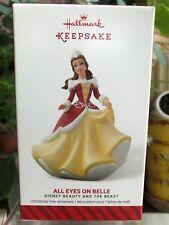 Hallmark Keepsake Ornament 2014-ALL EYES ON BELLE-Disney-Beauty & The Beast