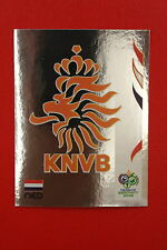 PANINI FIFA WORLD CUP GERMANY 2006 06 N. 227 NEDERLAND BADGE MINT!!!
