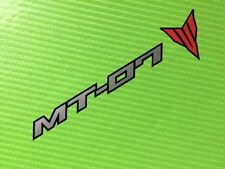 MT07 Decal stickers for Race, Track Bike, Toolbox, Garage or fairing ref #151