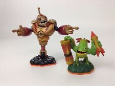 2 Activision Skylanders Giants (Series 2) Character Game Figures Bouncer & Zook
