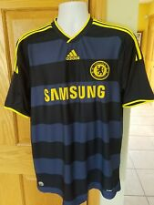 Samsung Chelsea Adidas ClimaCool Mens Large Blue Soccer jersey
