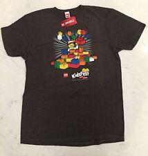 Lego Ninjago KidsFest The Fun is Building Mens Licensed Tee Shirt XL