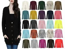 Acrylic Long Jumpers & Cardigans for Women without Fastening
