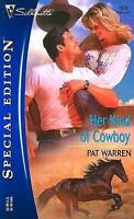 Her Kind of Cowboy (Silhouette Special Edition No. 1638)-ExLibrary