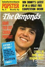 The Osmonds Popster Magazine No. 9   Donny Osmond