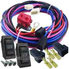 HEAVY DUTY 2 DOR POWER WINDOW FACTORY REPLACEMENT HARNESS GM HOLDEN CHEV FORD