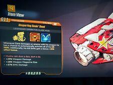 Level 60 Seein Dead Zane Mod Weapon dmg Mag Size SMG Dmg 3 Donny 2 PD xbox BL3