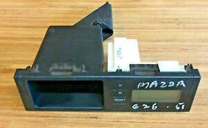 2001 MAZDA 626 DIGITAL TIME CLOCK DISPLAY SCREEN
