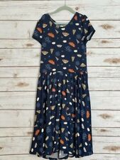 Dot Dot Smile Twirl Dress 8/10 Worn Once Umbrella's/Rain