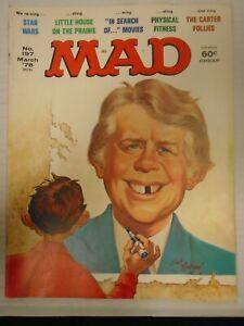 EC MAD MAGAZINE #197 (1978) Star Wars, Little House on the Prairie, Jimmy Carter