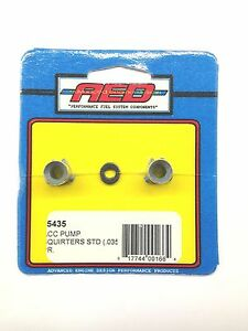 """AED 5435 Holley Carb Accelerator Pump Squirters-Std .035"""" -One pair-Carb nozzles"""