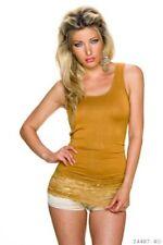 Camicia da donna marrone taglia S