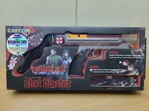 Wii Resident Evil Umbrella Chronicles Shot Blaster Nintendo Wii Gun Capcom NOB