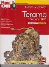 ELENCO TELEFONICO - 2010 - TERAMO E PROVINCIA