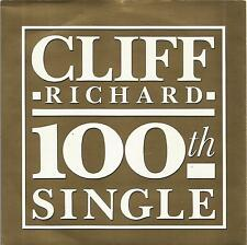 Cliff Richard - The Best Of Me 100th Single sleeve