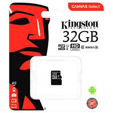 Kingston C10 Micro SDHC UHS - 1 Memory Card TF Card 32GB Black