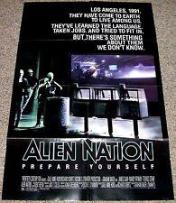 ALIEN NATION 1988 ORIGINAL 27x40 MOVIE POSTER! MANDY PATINKIN SCI-FI CLASSIC!