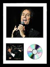 Cliff Richard / Limited Edition / Framed/ Photo & CD Presentation/ Bold As Brass
