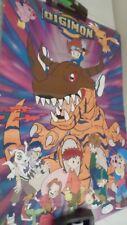 1999 Toei Scorpio Digimon Digital Monters Poster 454