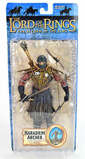 """Lord Of The Rings Series 4 HARADRIM ARCHER 6"""" Action Figure ROTK Toy Biz"""
