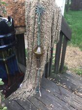 Yellow Electra Glass Lightning Rod & Ball Barn Garden Roof Patio Antique