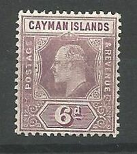 Edward VII (1902-1910) Mint Hinged Cayman Islands Stamps